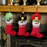 Geekkarácsony – Angry birds-ös karácsonyi zokni