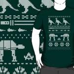 Heti póló – karácsonyi Star Wars (extra)