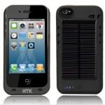Napelemmel tölthető külső elem iPhone-hoz