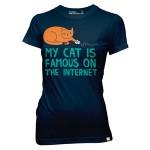 Heti póló – Híres a macskám az Interneten