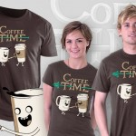 Heti póló – Coffee Time: kávéfüggőknek