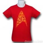 Heti póló: 30 Star Trek hajó egy jelvényben