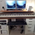 Kedvenc íróasztal: Zene és számítógép