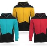 Heti póló – Star Trek: TNG kapucnis pulcsi