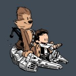 Heti póló: Star Wars / Calvin and Hobbes