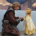 Anakin és Leia találkozás mini Padmé-val #napicuki