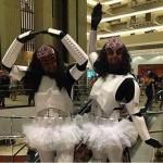 Birodalmi osztagos klingon balerina [Cosplay]