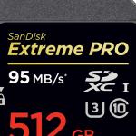 512GB SD kártya