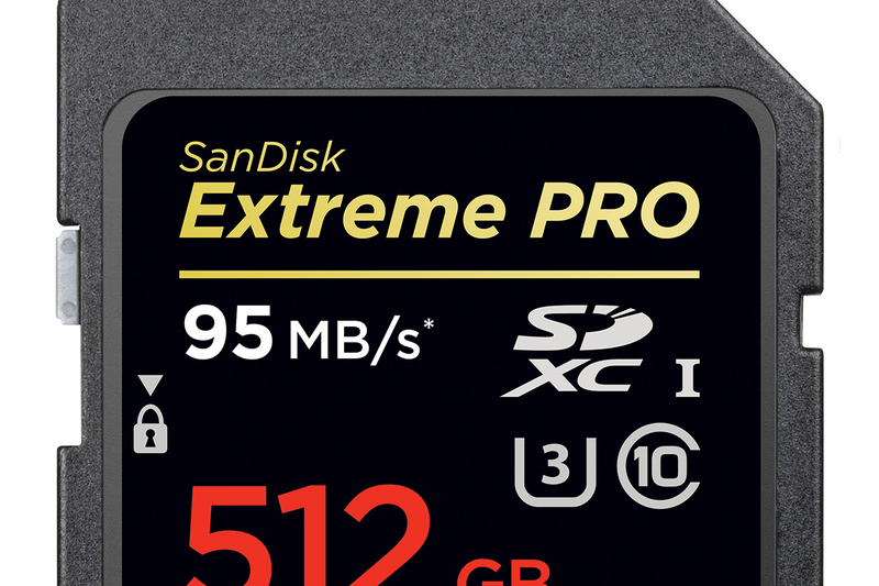 SanDisk's 512GB SD card is the biggest in the world | The Verge