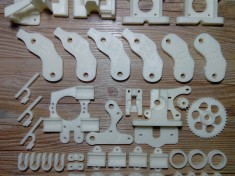 Heacent-Open-RepRap-Prusa-Mendel-i2-DIY-3D-Printer-ABS-Plastic-Set-Print-Parts-White-18[1]