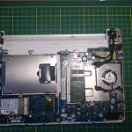 Samsung NC10, forrasztópáka és Epoxy